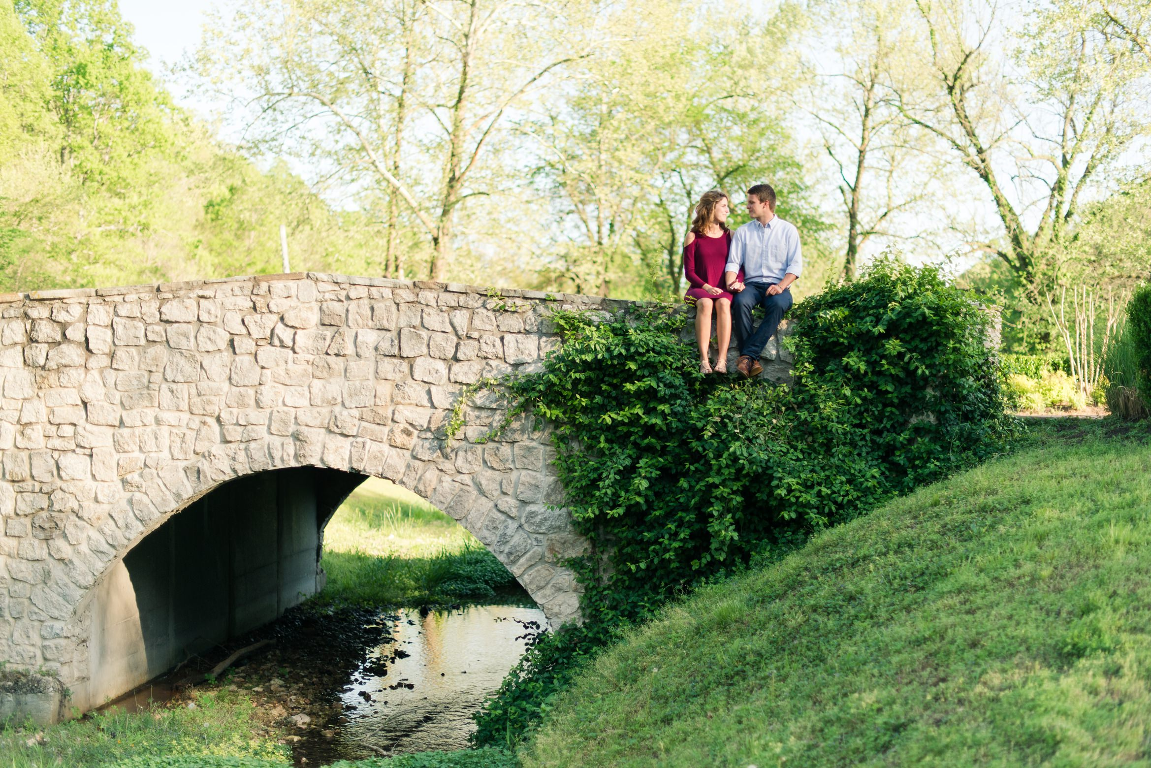 Bradley + Kate Engagement Photos in Siloam Springs, AR