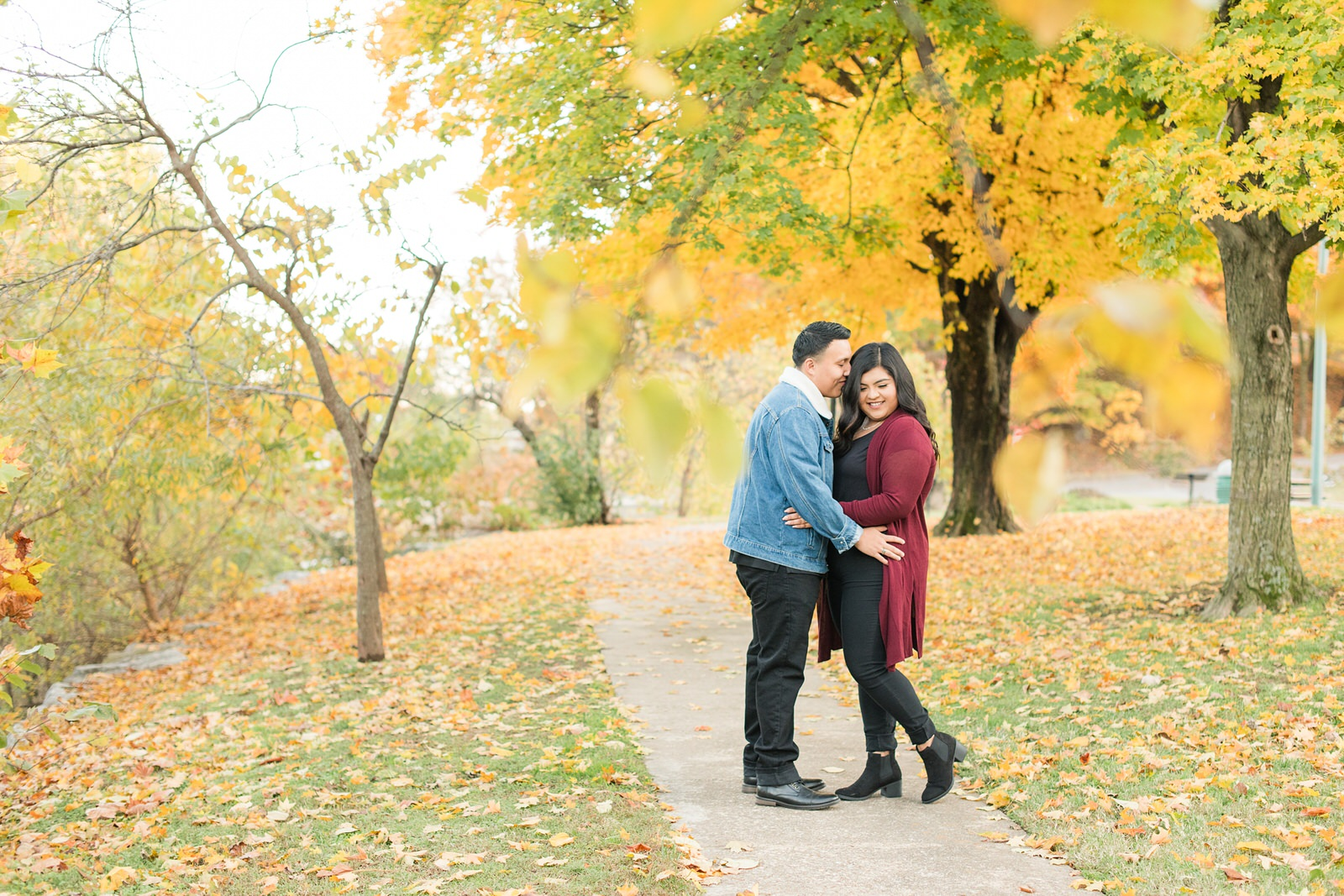 Estebon + Iliana Engagement Photos in Siloam Springs, AR