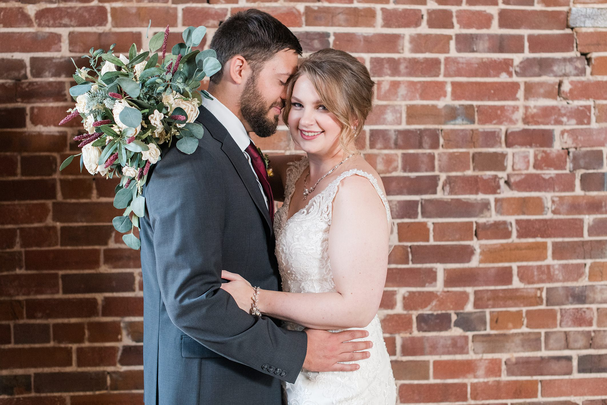 Addison + Casey Wedding at Loft 1023 in Little Rock, AR